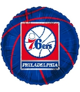 "18"" NBA Basketball Philadelphia 76ers"