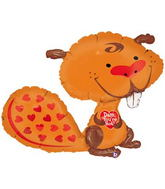 "37"" Dam You&#39re Hot Beaver Balloon"