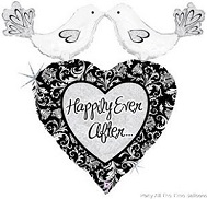 "34"" Happily Ever After Love Birds"