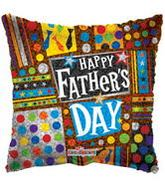 "9"" AirfillHappy Father's Day Prismatic Balloon"