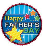 "4"" Airfill Happy Father&#39s Day All Star Dad"