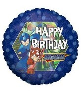 "18"" Happy Birthday Megaman"