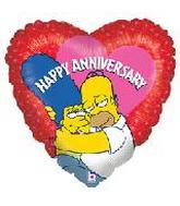 "18"" Simpsons Anniversary"