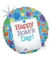 "18"" Boss's Day Note Holographic"
