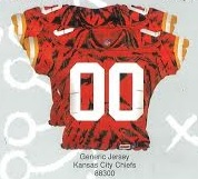 "25"" Foil Jersey Balloon Kansas City Chiefs"