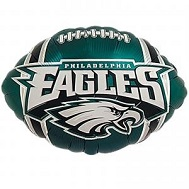 "9"" Airfill Only NFL Balloon Philadelphia Eagles"