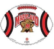 "18"" University Of Maryland Terrapin (Slight Damage Print)"