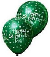 "12"" St. Patrick&#39s Day Latex 50&#39s"