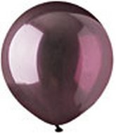 "17"" Crystal Burgundy Latex 72 Count"