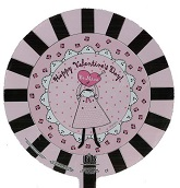"9"" Airfill Happy Valentine&#39s Day Be Mine Doily"