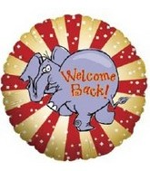 "18"" Welcome Back Elephant 5B042"