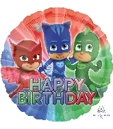 "18"" PJ Masks Happy Birthday Balloon"