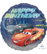 "18"" Cars 3 Happy Birthday Balloon"