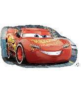 "30"" Jumbo Cars Lightning McQueen Balloon"