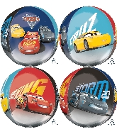 "16"" Orbz Jumbo Cars 3 Balloon"