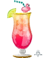 "41"" Let&#39s Flamingle Tropical Drink (Flamingo)"