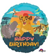"18"" Lion Guard Happy Birthday Balloon"