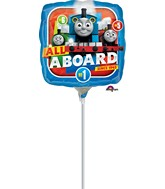 "9"" Airfill Only Thomas the Tank Engine Balloon"