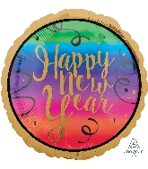 "18"" Colorful New Year Balloon"