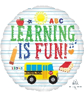 "18"" Learning Is Fun Balloon"