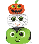 "36"" Jumbo Halloween Heads Balloon"
