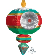 "23"" Jumbo Retro Ornament Balloon"
