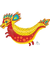 "38"" Jumbo Fiery Dragon Balloon"