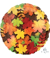 "18"" Colorful Leaves Balloon"
