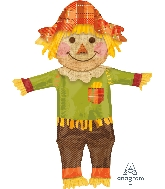"38"" Jumbo Fall Happy Scarecrow Balloon"