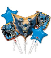 Bouquet Balloon Batman Balloon Packaged