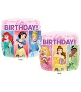"18"" Balloon Multi-Princess Dream Big Happy Birthday"