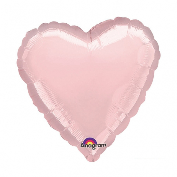 32 Large Balloon Pastel Pink Heart