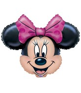 "11"" (Airfill Only) Minnie Mouse Balloon Shape"