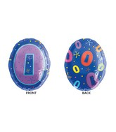 "20"" Junior Shape 0 Multi-Color Balloon"