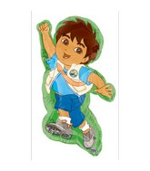 (Airfill Only) Go Diego Go Balloon Character