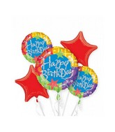 Bouquet Birthday Blitz Balloon Packaged