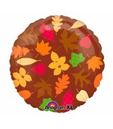 "18"" Autumn Leaves Balloon"