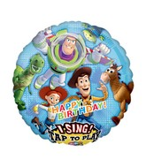 "28"" Sing-A-Tune Toy Story Happy Birthday"