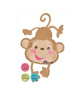 "40"" Fisher Price Baby Monkey Balloon"