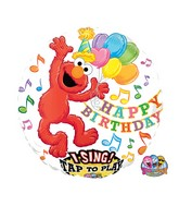 "28"" Sing-A-Tune Elmo Happy Birthday"