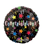 "18"" Congratulations! Balloon Packaged"