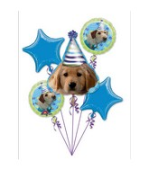 Party Pups Birthday 5-piece Bouquet
