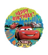 "28"" Sing-A-Tune Disney Cars Group Birthday"