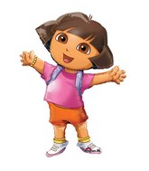 "52"" Dora the Explorer Jumbo Airwalker Balloon"