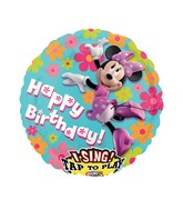 "28"" Sing-A-Tune Minnie Mouse Birthday"