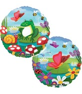 "18"" Spring Critters Balloon Packaged"