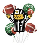 Bouquet Football Balloon Packaged