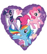 "18"" My Little Pony Purple Heart Balloon"