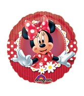 "9"" EZ Fill Airfill Mad About Minnie With Sticks (3 Pack)"