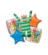 Yo Gabba Gabba! Birthday Balloon Bouquet